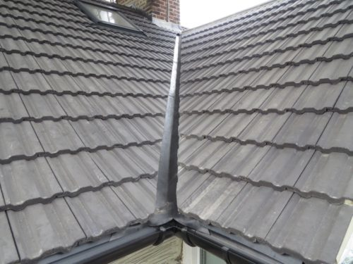 Front view roof valleys