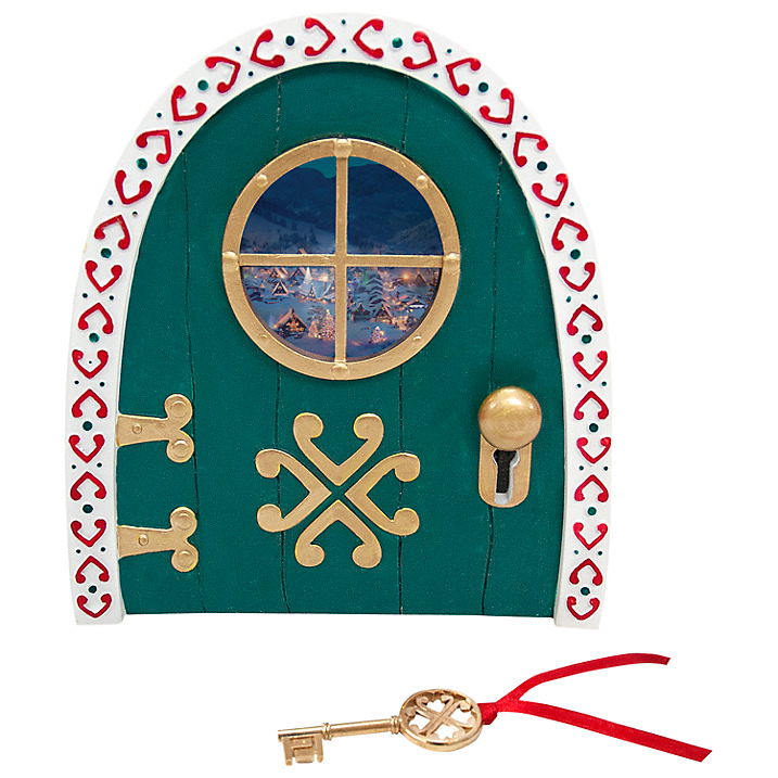 Portable North Pole Elf Door