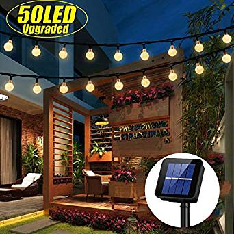 Solar Powered Festoon Lights