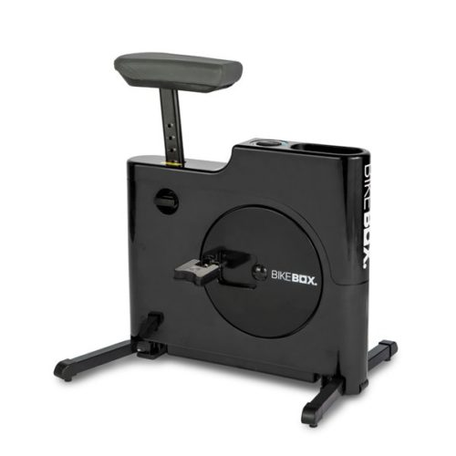 Bike Box Hands Free Compact Exercise Bike – Black