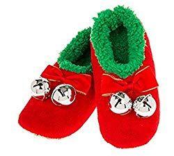 Soft fluffy Elf Slippers