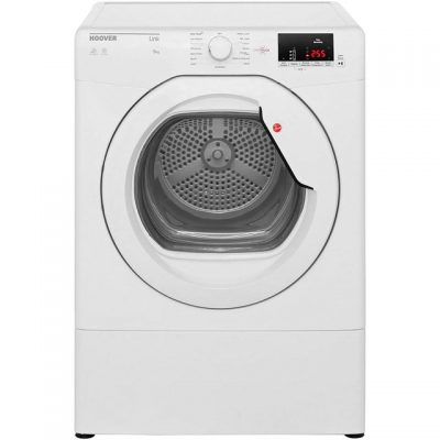 Hoover Dynamic Next HLV9DG 9Kg Vented Tumble Dryer - White - C Rated
