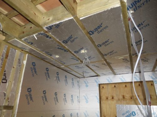 View of insulation