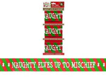 Naughty Elf Tape