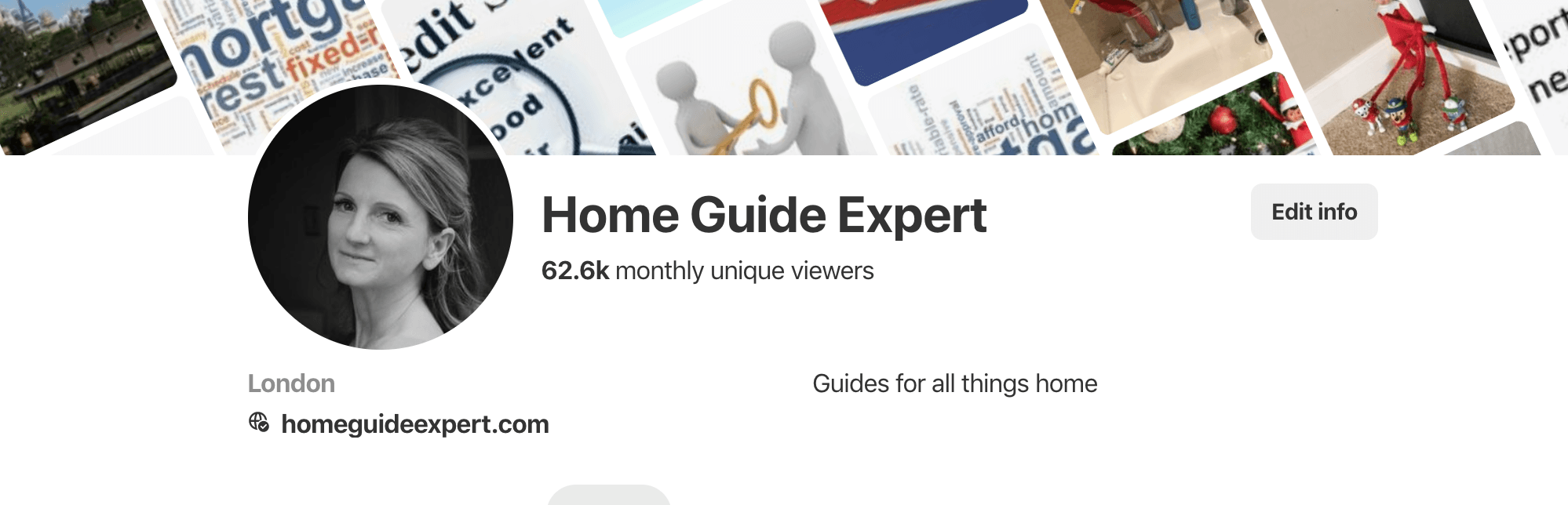 Image of Home Guide Expert Pinterest Board
