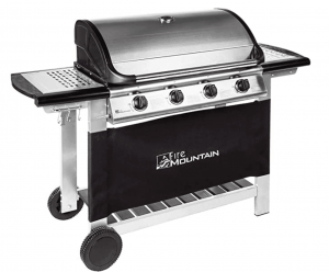 Image of gas grill