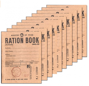 VE Day Home Decorations Ration Books