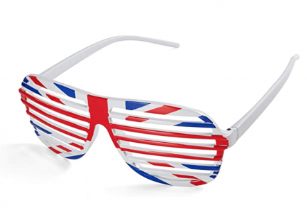 VE Day Home Decorations Union Jack Shutter Shades