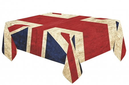 VE Day Home Decorations Union Jack Table Cloth