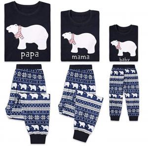 Christmas Polar Bear Pyjamas