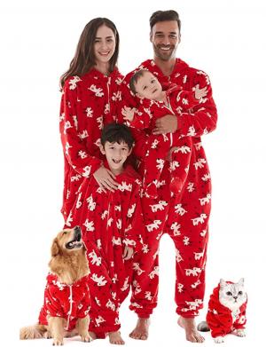 Red flannel Christmas Pyjamas