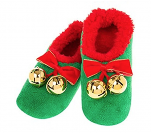 Christmas bell Elf Slippers