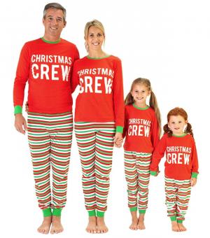 Christmas Crew matching Family Pyjamas