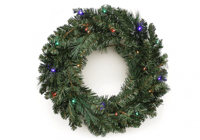 Green LED Christmas Wreath