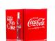 Husky HUS-EL196 Coca Cola Design Mini Fridge/Drinks Cooler, Red [Energy Class A+] [Energy Class A+]