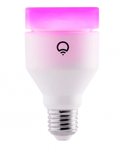 LIFX (E27) Wi-Fi Smart LED Light Bulb, Adjustable, Multicolour, Dimmable, No Hub Required, Works with Alexa, Apple HomeKit and The Google Assistant [Energy Class A+]