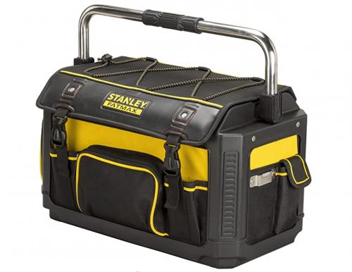 Stanley 20-inch FatMax Plastic/Fabric Tote with Cover