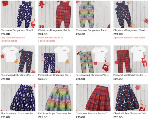 Childrens Christmas Wear