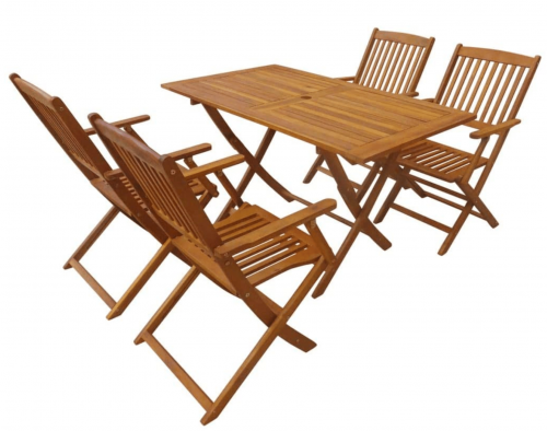 Hardwood Garden Furniture Dining Set