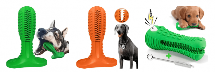 Dog Toy Toothbrushes