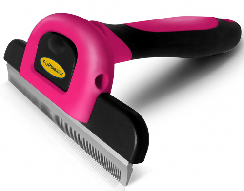 Deshedding Tool & Pet Grooming Brush