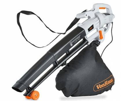 Electric leaf blower/vacuum
