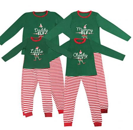 Elf Christmas Pyjamas