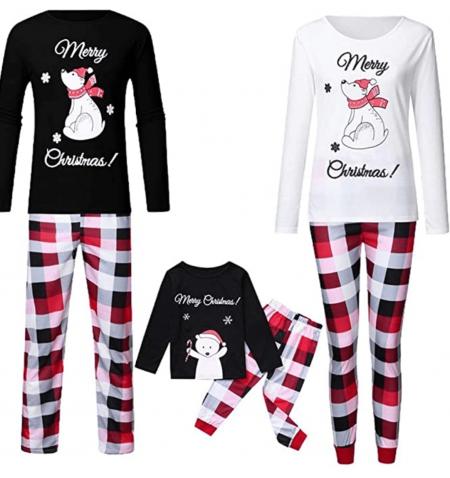 Merry Christmas matching family pyjamas