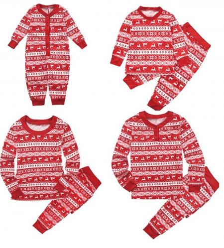 Plaid Elk Pyjamas