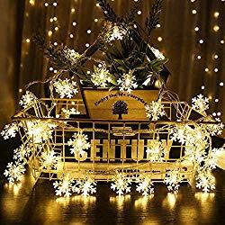 Image of Snowflake Festoon lights