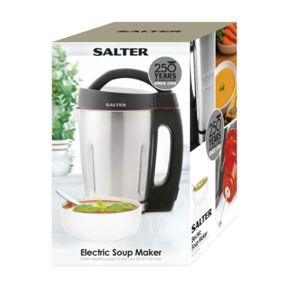 Salter Electric Soup Maker Jug - Stainless Steel