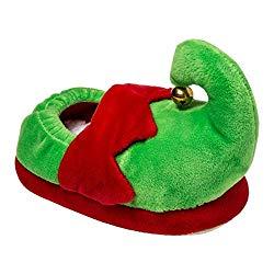 Toddler elf slippers
