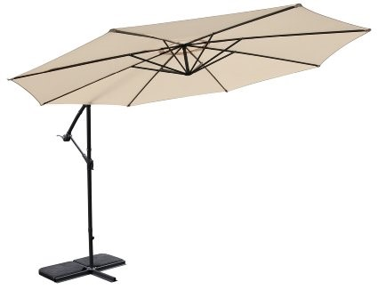 Umbrella 1 with stand and cover