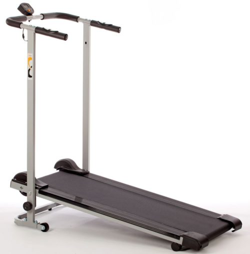 V-fit Mtt1 Mini Manual Treadmill With Pulse
