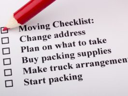 Image of moving checklist