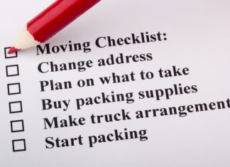 When You Move Checklist - Home Guide Expert