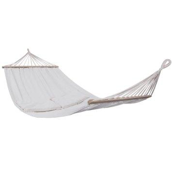 White tree hammock