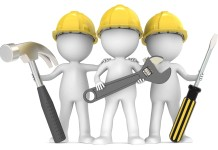 Image of three builders