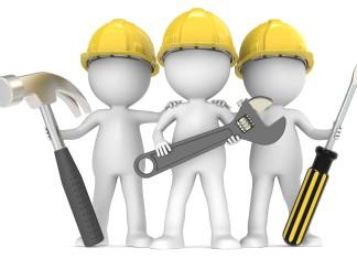 Image of three builders