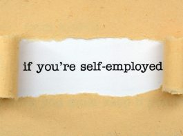 Image of the words if you are self-employed