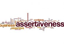 Image of the word assertiveness