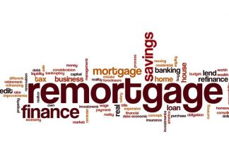 Image of the word remortgage