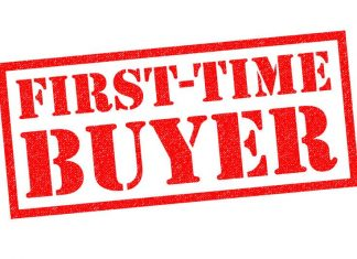 Image of the words First Time Buyer