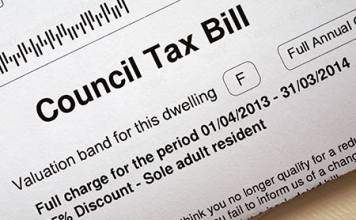 Image of council tax bill