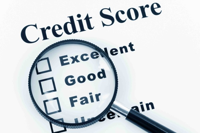 Image of a credit score